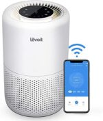 LEVOIT Good WiFi Air Air purifier for Dwelling, Alexa Enabled H13 True HEPA Filter for Allergic reactions, Pets, People who smoke, Smoke, Mud, Pollen, 24dB Quiet Air Cleaner for Bed room with Show Off Design, Core 200S