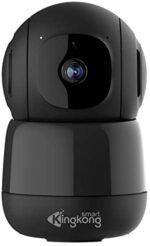 Kingkong Smart 1080P Wireless Security Camera, Baby Monitor, Indoor Pet Camera, AI Human Detection, Auto Tracking, 2-Way Audio, Pan/Tilt Home WiFi IP Camera, Night Vision, Cloud Storage