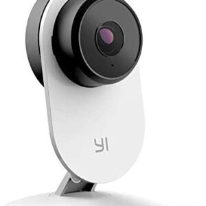 YI Security Home Camera 3 Baby Monitor, 1080p WiFi Smart Wireless Indoor Nanny IP Cam with Night Vision, 2-Way Audio, Motion Detection, Phone App, Pet Cat Dog Cam - Compatible with Alexa and Google