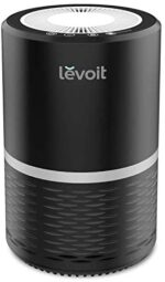 LEVOIT Air Air purifier for Residence, H13 True HEPA Filter for People who smoke, Smoke, Mud, Mildew, and Pollen in Bed room, Filtration System Odor Eliminators for Workplace with Non-compulsory Night time Mild, 1 pack, Black