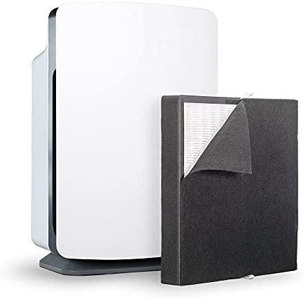 Alen BreatheSmart Basic Massive Room Air Air purifier, Medical Grade Filtration H13 True HEPA for 1100 Sqft, 99.99% Airborne Particle Elimination, Captures Allergens, Mud, Pet Dander, Odors in White